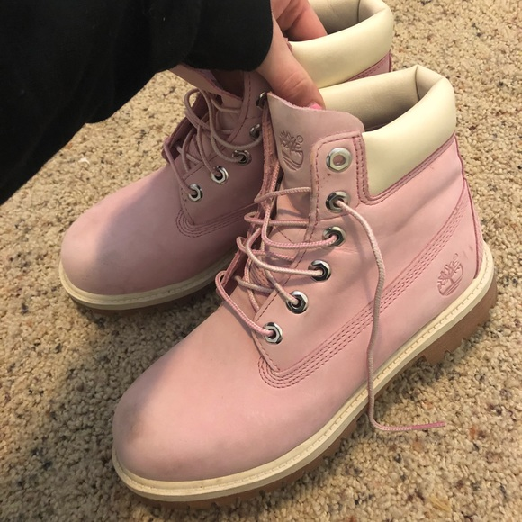 timberland boots pink 38